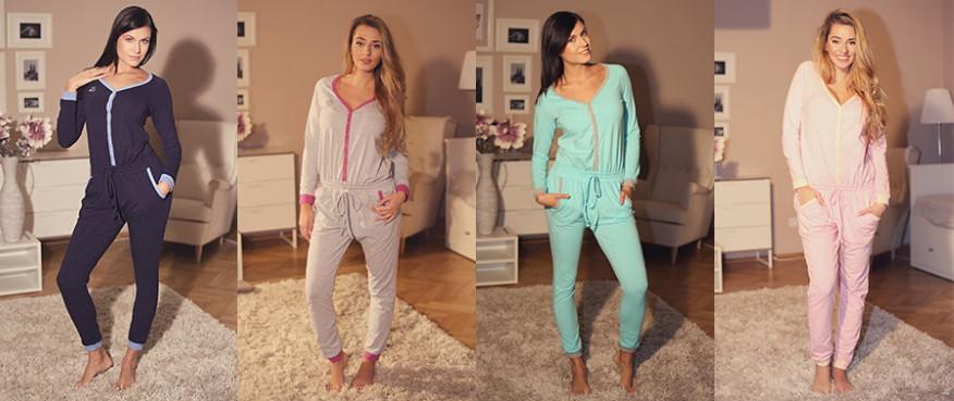 Dámské pyžamové overaly na spaní