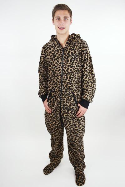 Leopardí pánské dupačky pro dospělé
