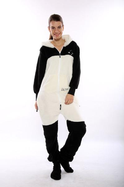 Dámské dupačky pro dospělé se vzorem Panda