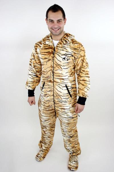 Tygří tygrované pánské dupačky pro dospělé